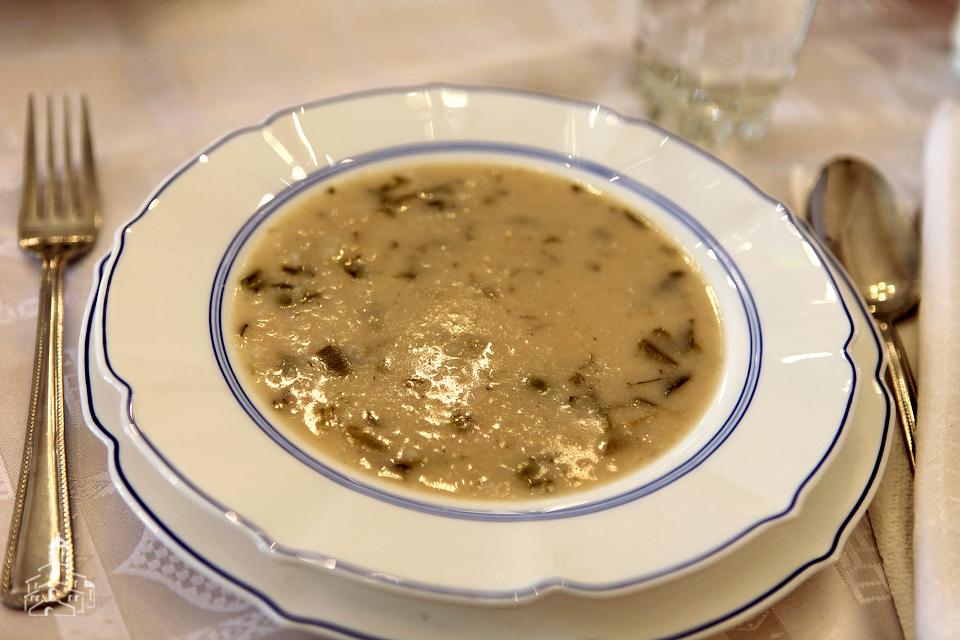 Суп из тахини