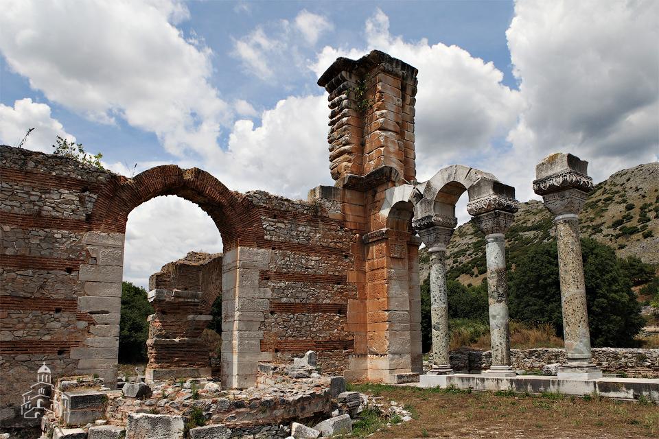 Филиппы. Развалины базилики