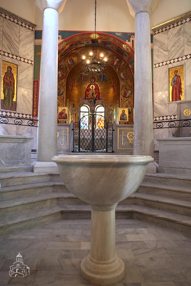 Храм на месте крещения св. Лидии