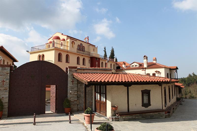 Монастырь Успения Богородицы. Панорама, Салоники